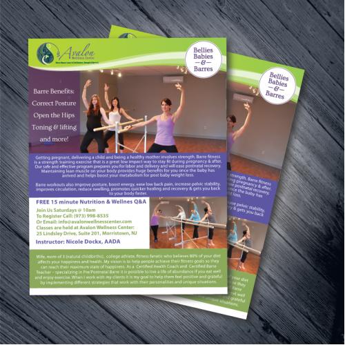 Avalon Wellness Center Barre Flyer