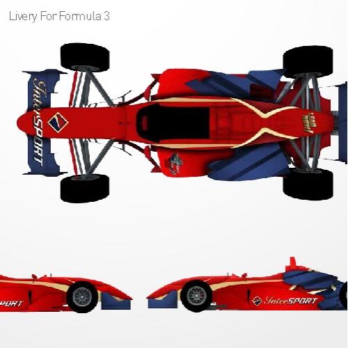 F3 Livery Gudang Garam Intersport Lead For Speed