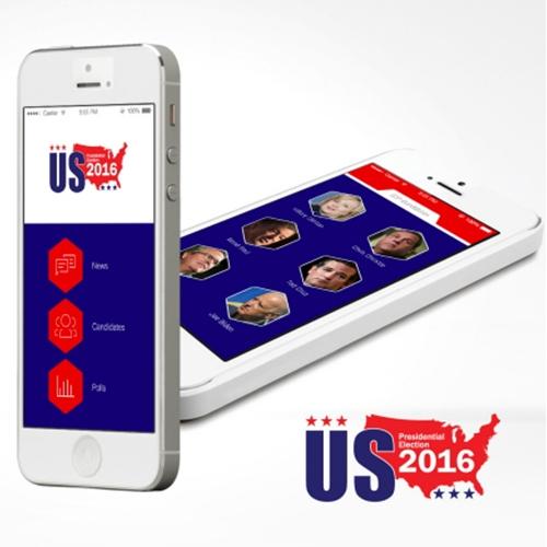 US Election 2016 App