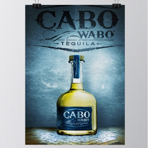 Cabo Wabo Tequila Poster