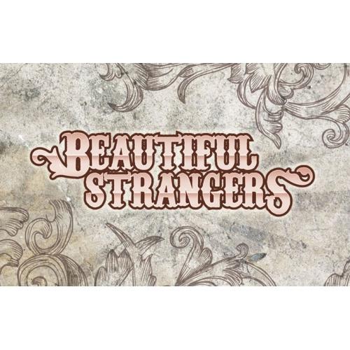 Beautiful Strangers logo for a rock band