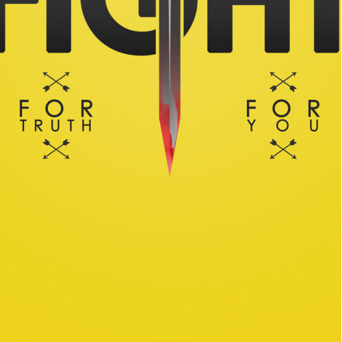 Poster Design - Fight