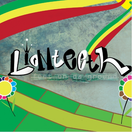 LionTeeth - Cover for a Reggae band album