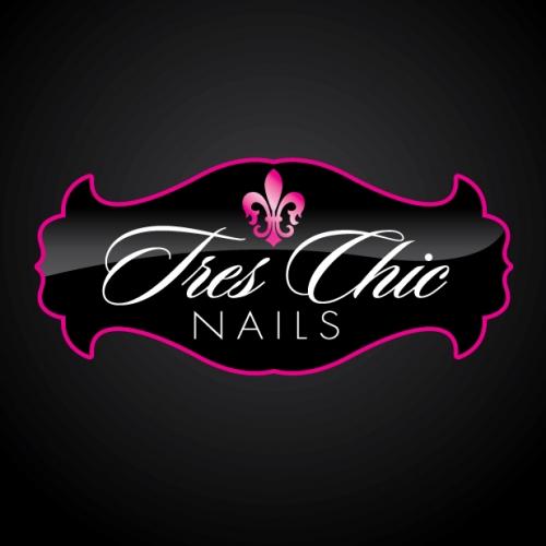Tres Chic - Cosmetic Company Logo