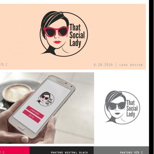 That Social Lady Logo