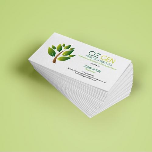 Ozgenonline - Logo and Business Card Design