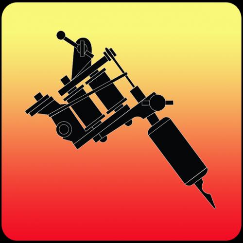 App icon design for tattoo shop